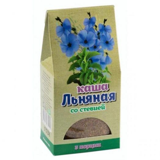 Каша Льняная со стевией Крымская Стевия 100 гр (3 порции)