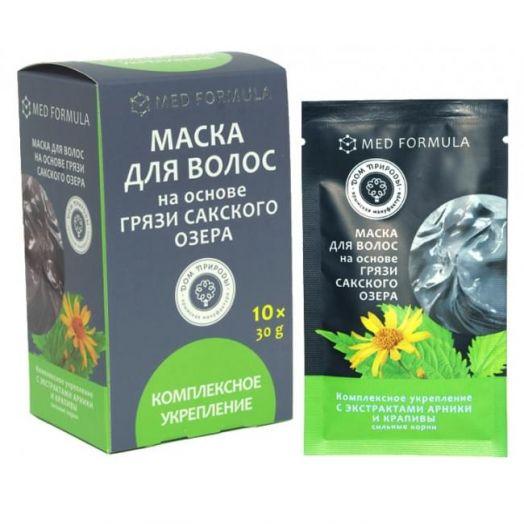 Маска для волос Комплексное Укрепление Мед Формула Дом Природы  30 гр 1 саше-пакет