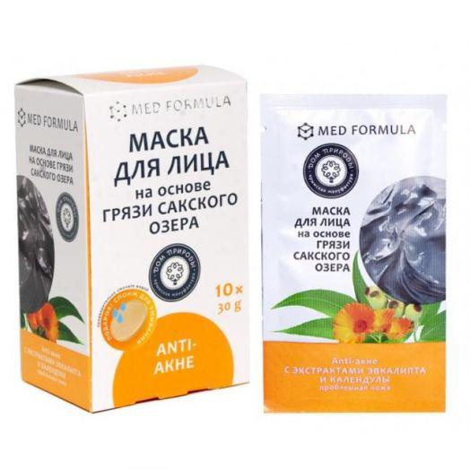 Маска для лица  Анти-Акне Дом Природы 30 гр 1 саше-пакет