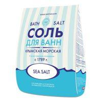 Морская соль для ванн Крымская Царская Соль 1000 гр