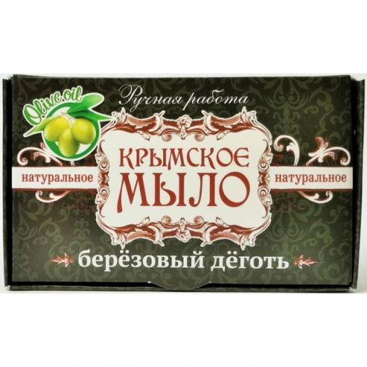 Крымское мыло ручной работы Березовый Дёготь Дом Природы 45 гр