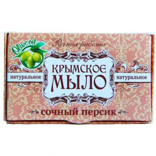 Крымское мыло ручной работы Сочный Персик Дом Природы 45 гр