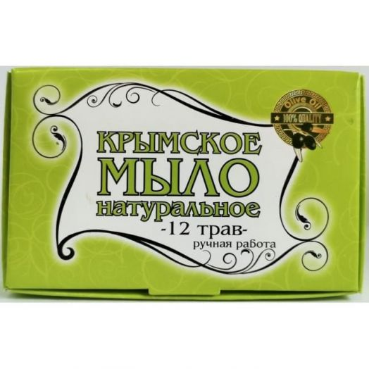 Крымское мыло 12 Трав Крым Дар 80 гр