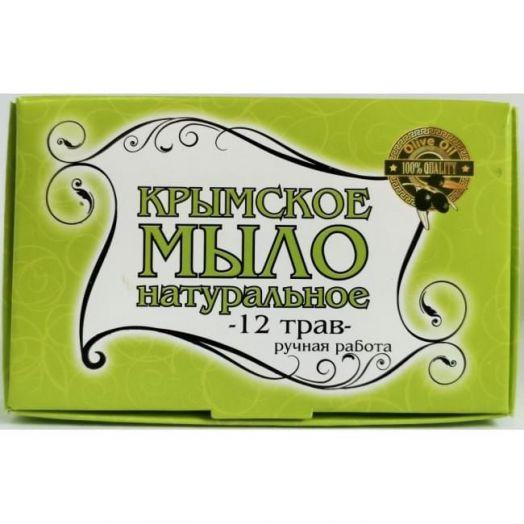 Крымское мыло 12 трав Крым Дар 50 гр