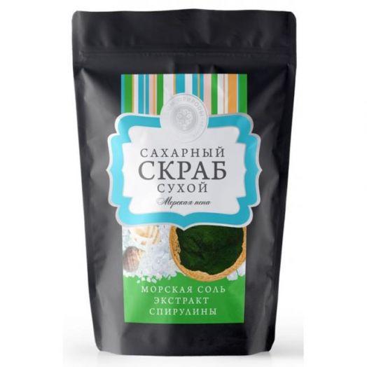 Сухой сахарный скраб Морская пена Дом Природы 250 гр