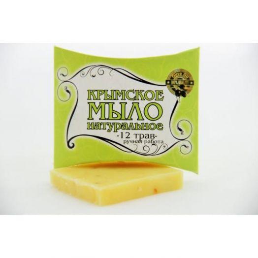 Крымское мыло 12 ТРАВ 20 гр