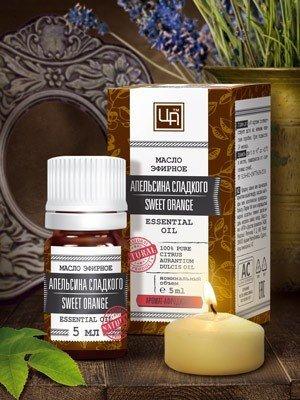 Эфирное масло Апельсина сладкого Царство Ароматов 5 мл