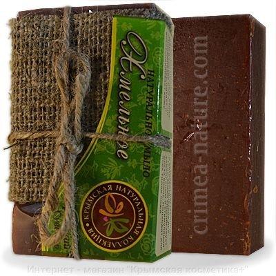 Натуральное мыло ручной работы Хмельное Крымские сувениры 75 гр