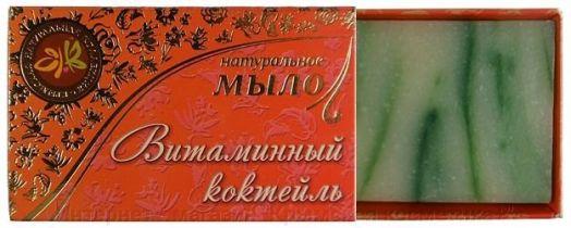 Натуральное мыло Витаминный коктейль Крымская Натуральная Коллекция 75 гр