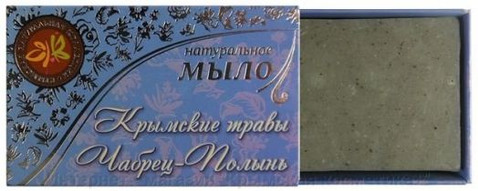 Натуральное мыло Крымские травы Чабрец Полынь Крым Дар 75 гр