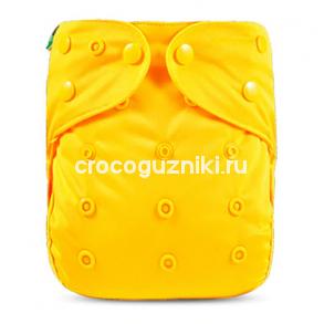 Многоразовый подгузник-обложка Elinfant ЖЕЛТЫЙ