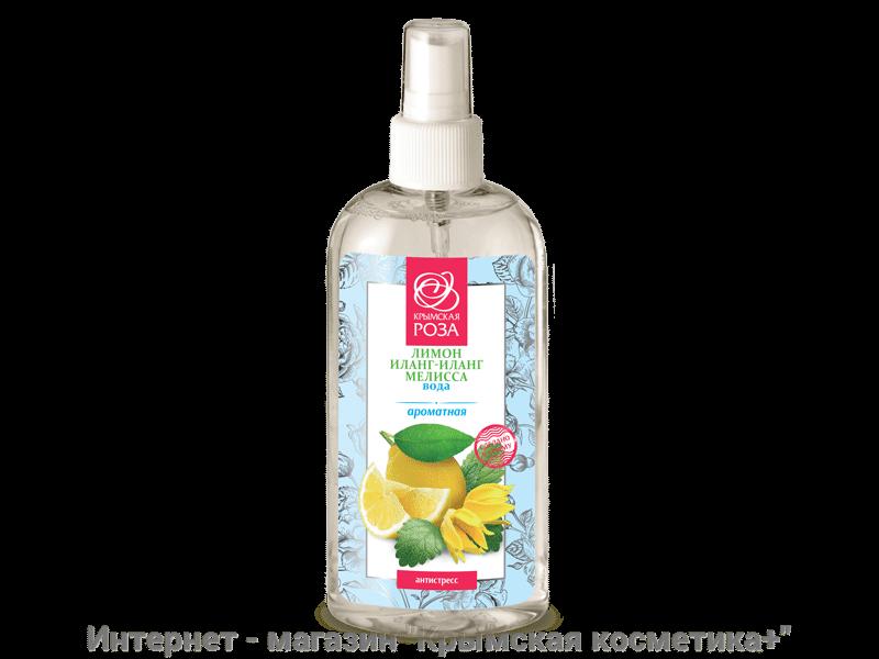 Ароматная вода Лимона Иланг-Иланга и Мелиссы Крымская Роза 200 мл