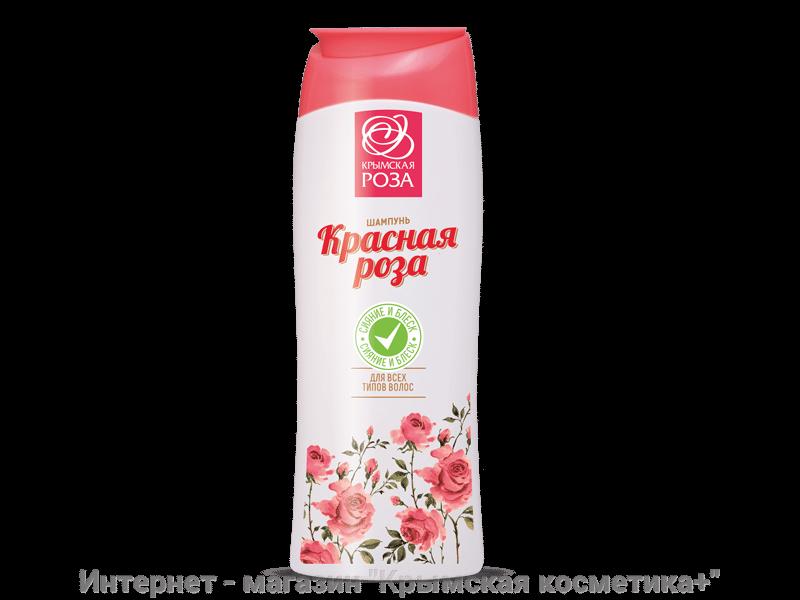 Шампунь для всех типов волос Красная роза Крымская Роза 250 мл