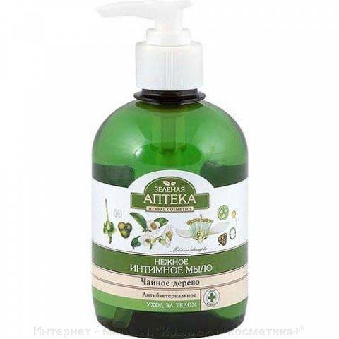 Мыло для интимной гигиены Чайное дерево Зеленая Аптека 370 мл