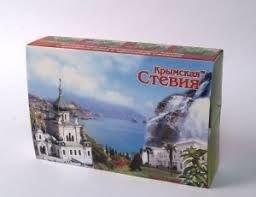 Набор чая Крымская Стевия Зелёный чай 80 фп