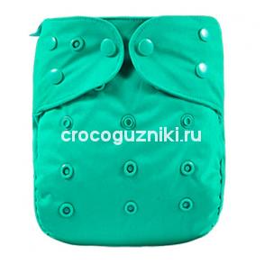 Многоразовый подгузник-обложка Elinfant Зеленый