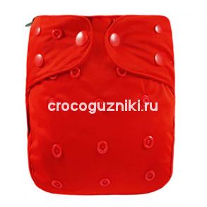 Многоразовый подгузник-обложка Elinfant Красный