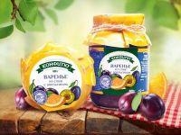 Варенье из сливы с апельсином 600 гр