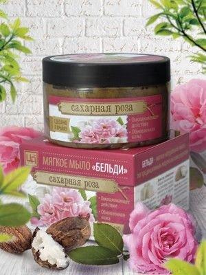 Мягкое мыло Бельди Сахарная роза 250 мл