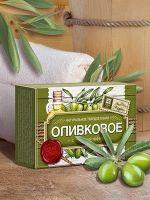 Натуральное мыло Оливковое с голубой глиной Царство Ароматов 85 гр