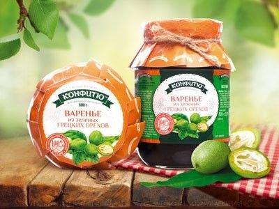 Варенье из зеленых грецких орехов 600 гр