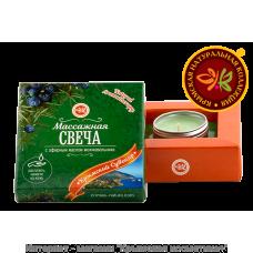 Массажная свеча с маслом можжевельника Крымская Натуральная Коллекция 12 гр
