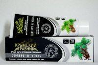 Зубная паста Серебро и Уголь Крымский Травник 100 мл