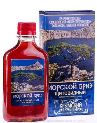 Бальзам Морской бриз Щитовидный Крымский Травник 250 мл