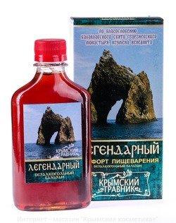 Бальзам Легендарный Пищеварение Крымский Травник 250 мл