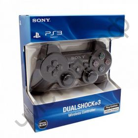 Джойстик для PS3 OT-PCG02 черный SIXAXIS DualShock3 2.4GHz Wireless беспроводн.