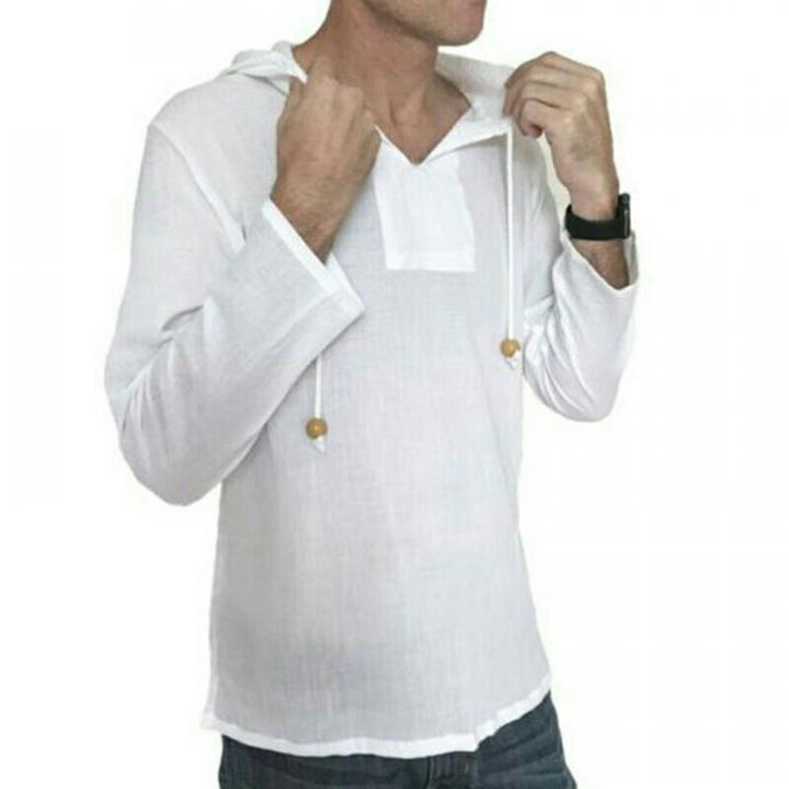Тайская рубашка с капюшоном с длинным рукавом 1 шт