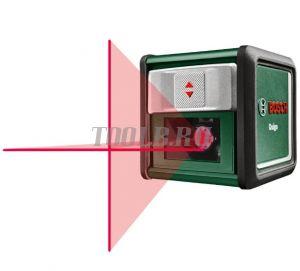 BOSCH Quigo III Лазерный уровень с держателем MM2