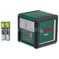 BOSCH Quigo III Лазерный уровень с держателем MM2 фото