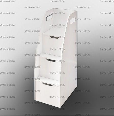 Лестница-тумба белая ДС-18