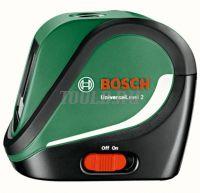 Лазерный уровень Bosch UniversalLevel 2 SET со штативом цена с доставкой по России и СНГ