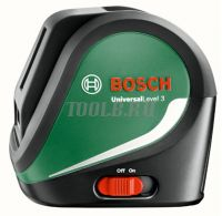 Bosch UniversalLevel 3 Лазерный нивелир - купить выгодно по цене производителя