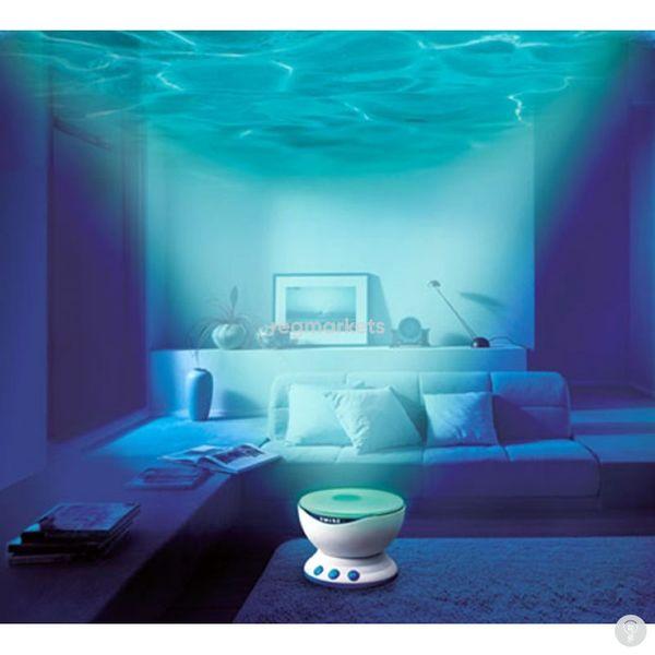 Лампа-проектор (Цветные волны)