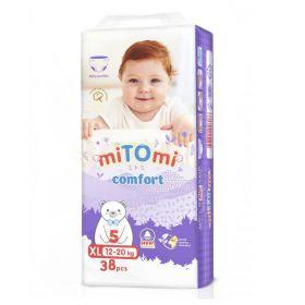 Трусики miTomi Comfort XL38 (12-20кг)