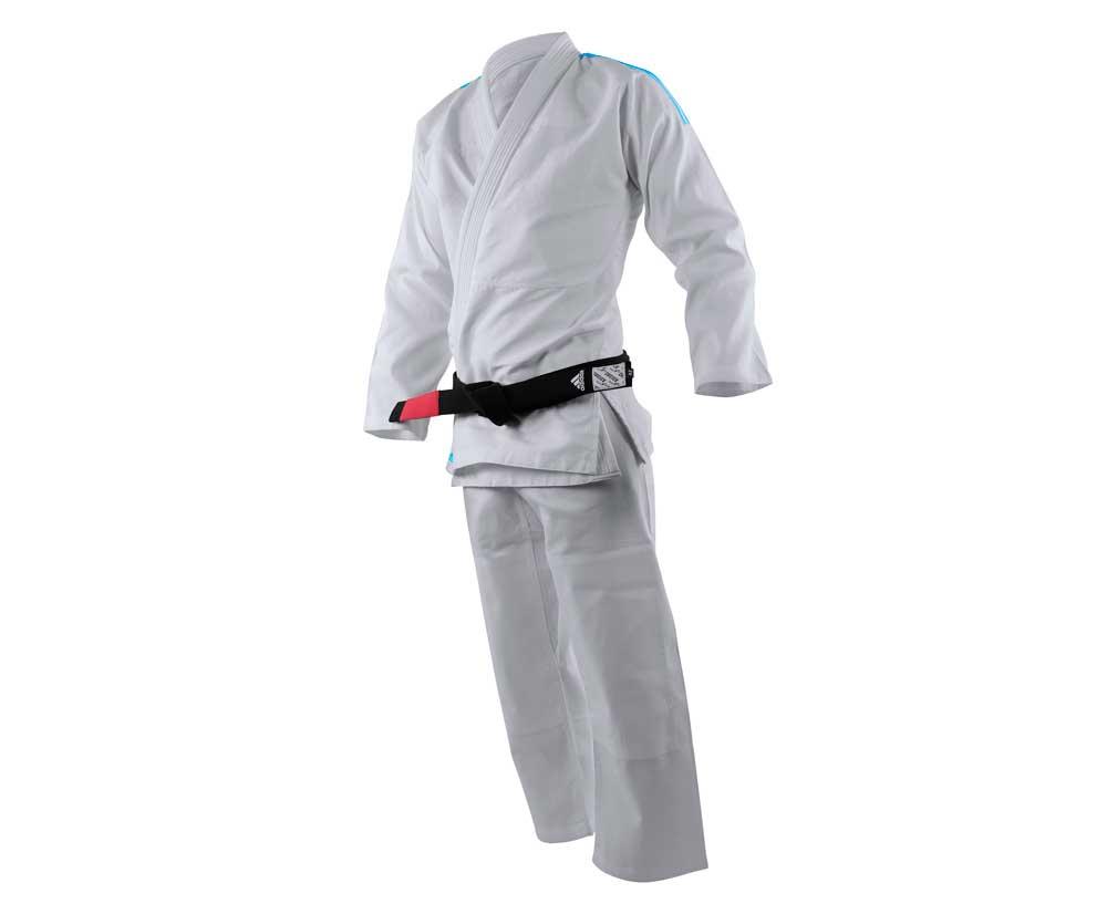 Кимоно для джиу-джитсу подростковое Rookie белое, размер М1, артикул JJ250