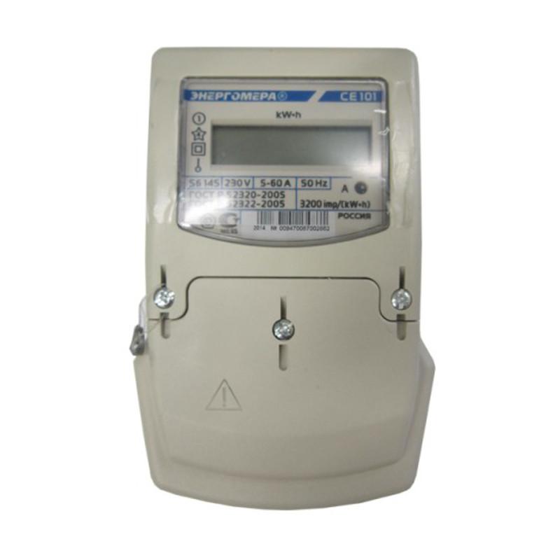 Счетчик электроэнергии однофазный  CE101 -S6 146 М6
