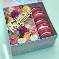 Цветы и сладости к дню рождения