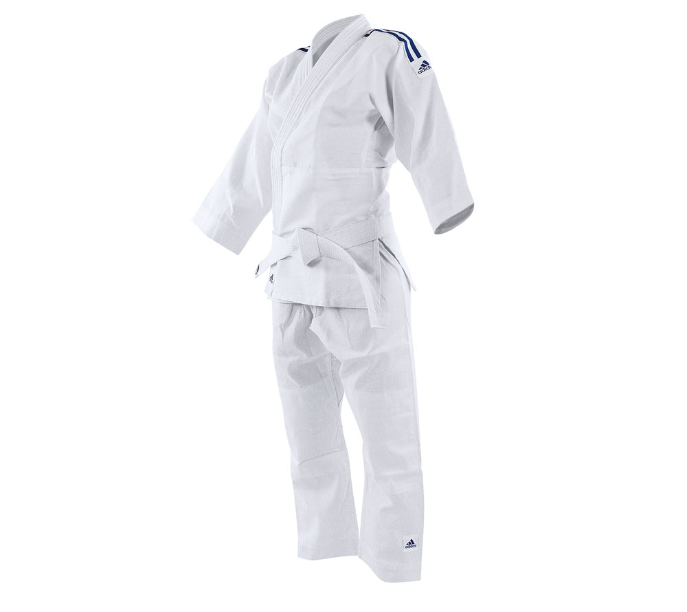 Униформа Дзюдо Adidas подростковое Evolution II белое, размер 100-110 см, артикул J250EK
