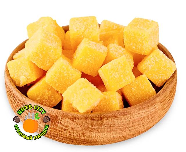 Конфеты манго (кубики)