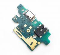 FLC (Шлейф) Samsung A405F Galaxy A40 (на системный разъём, разъём гарнитуры и микрофон)