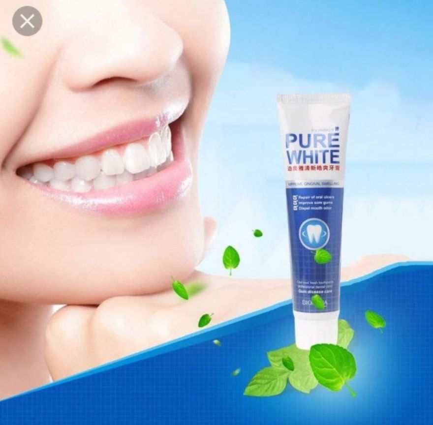 Отбеливающая зубная паста Pure White 120 гр.