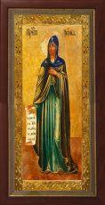 Мерная икона Ксения Миласская преподобная  (25x50см)