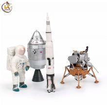 Сборные модели Лунная программа Аполлон США 4в1