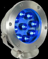 Подводный Светодиодный Светильник синий 6W/12W, IP68