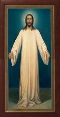 Мерная икона Спаситель в белом хитоне  (25x50см)