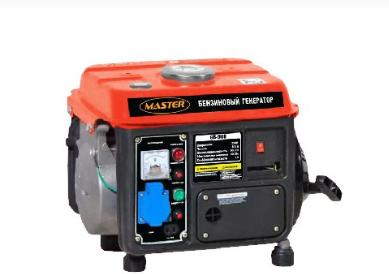 Генератор бензиновый MASTER GB-900
